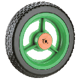10 inches EVA Tricycle Wheel with solid tyre