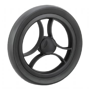 EVA foaming wheel in 10 inch, with fashion style rim center and flat outer tyre