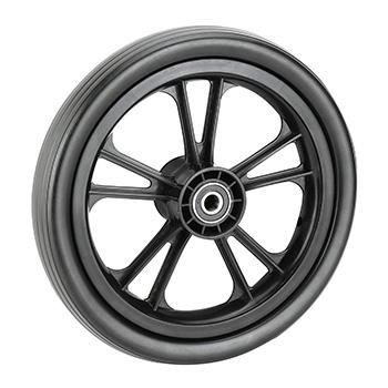 EVA foaming wheel in 10 inch for trolley using